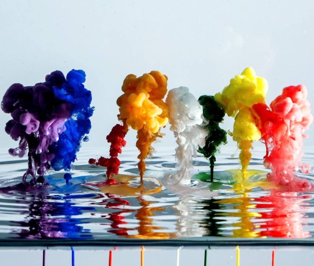 Paints In Water