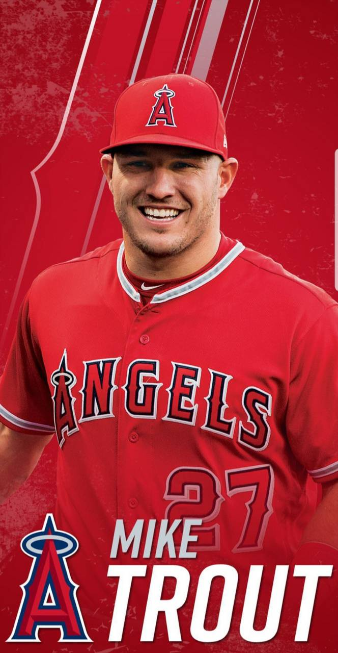 Mike Trout Wallpaper By Johnnyblaze 21 A0 Free On Zedge