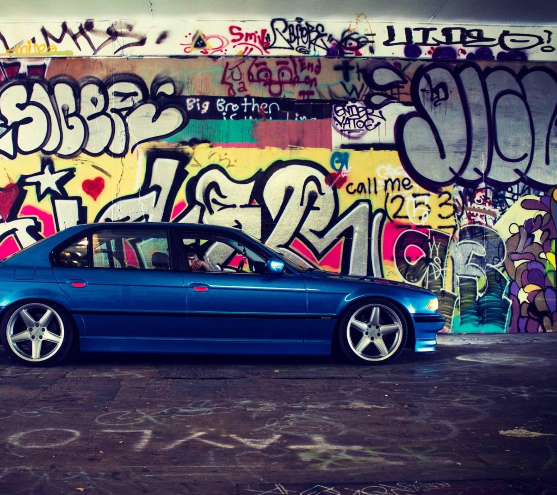 BMW graffiti
