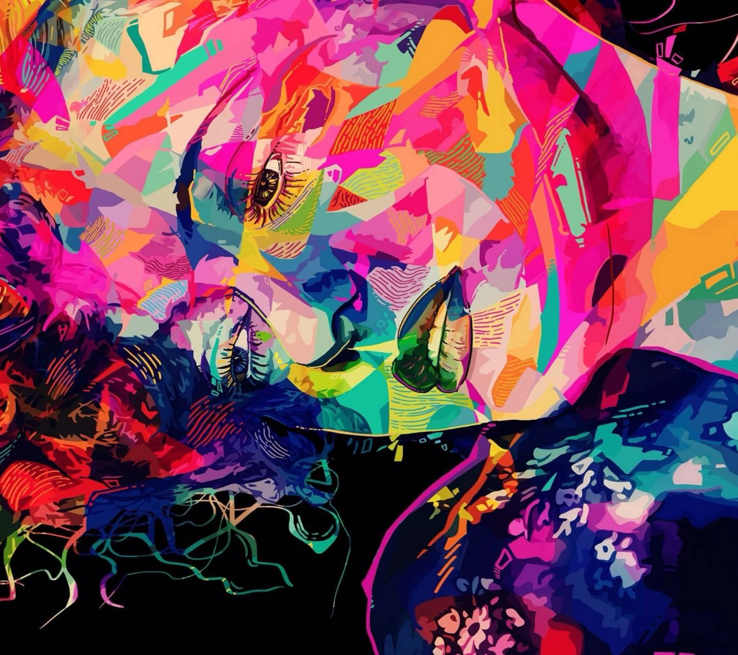 Womans Digital Art