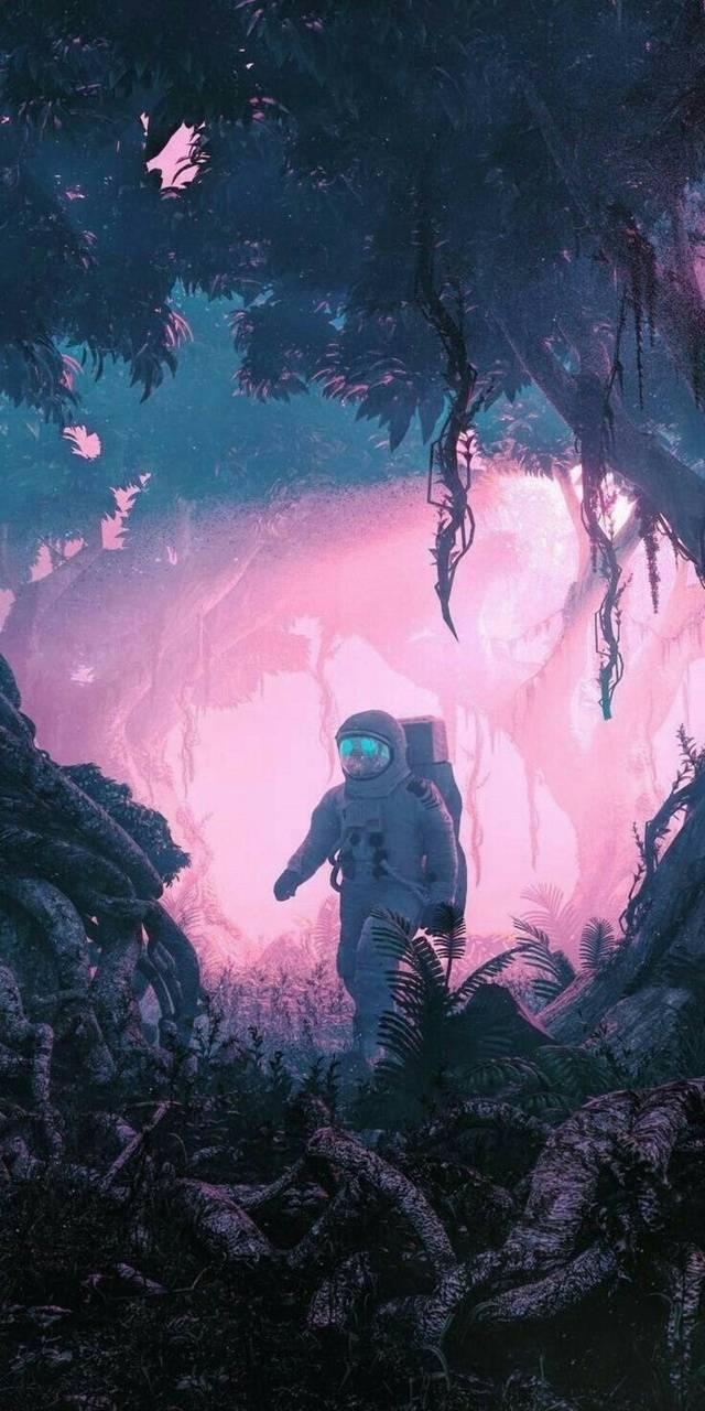 Earth astronaut