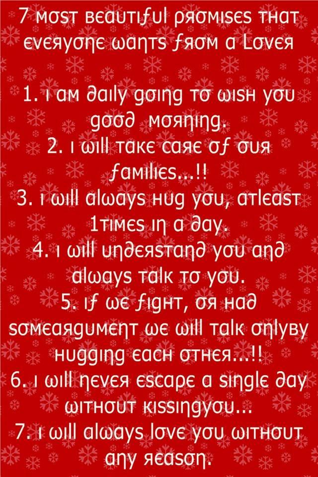 7 Beautiful Promises