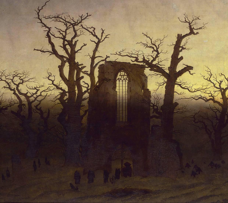 Abbey In Oak Trees