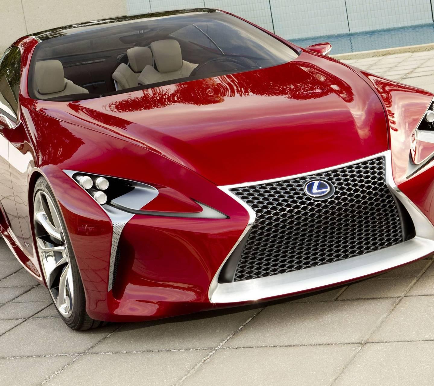Super Red Lexus Lf