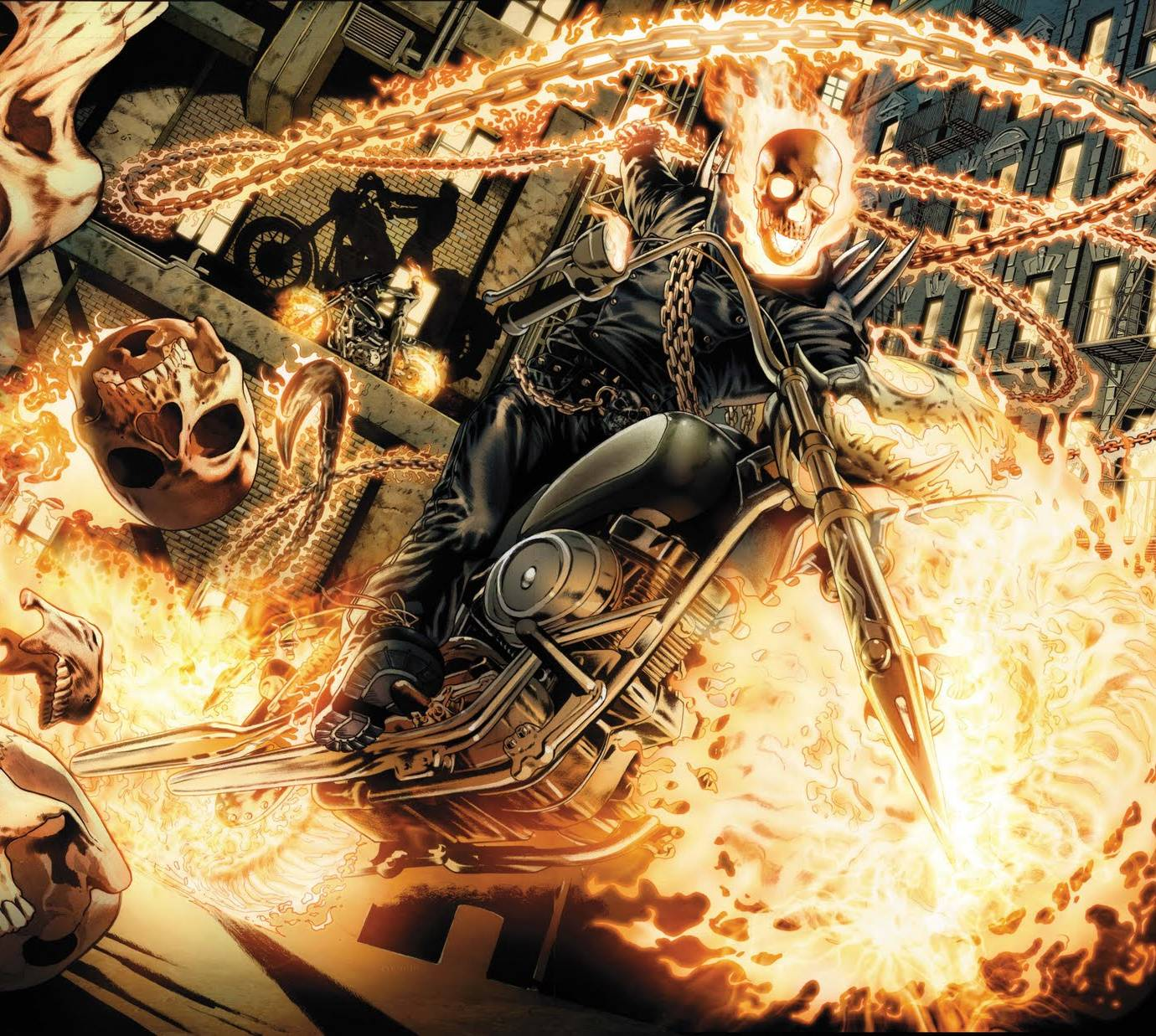 Ghost Rider Attack