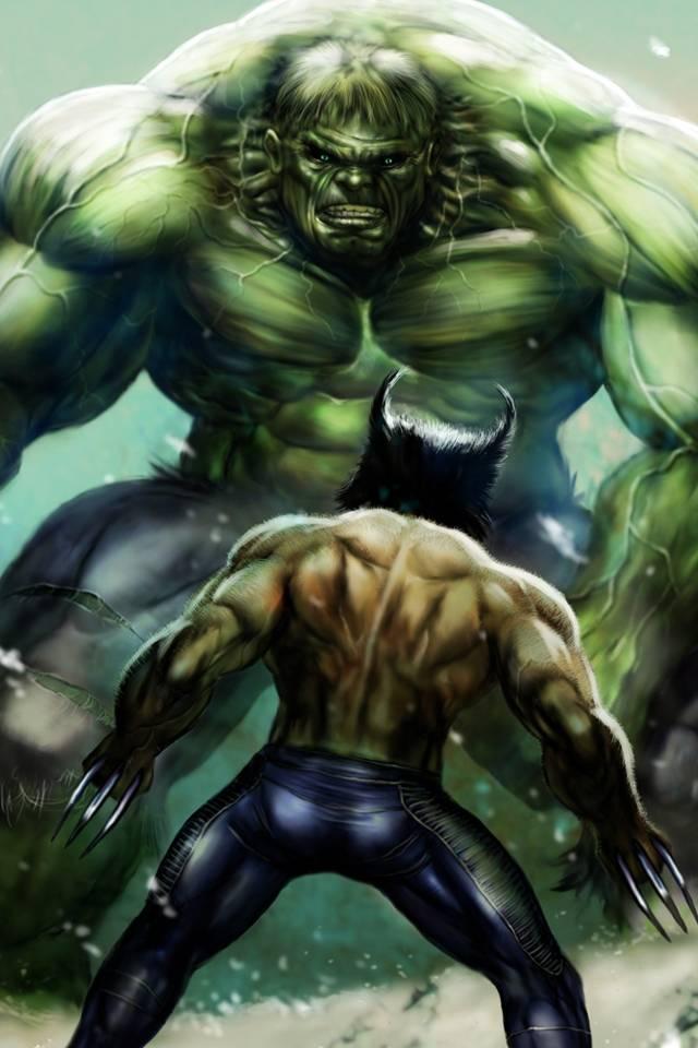 Wolverin Vs Hulk