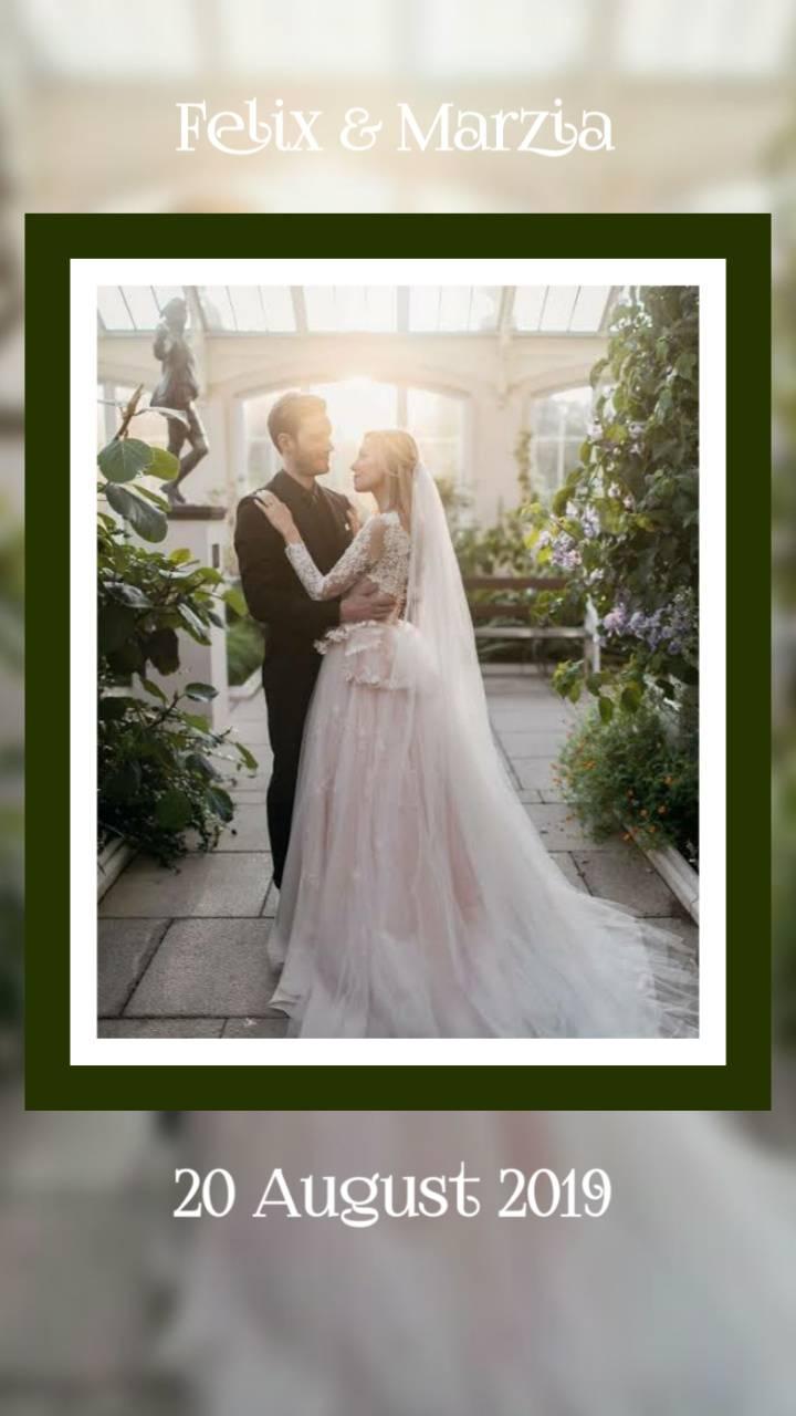 pewdiepie wedding photos