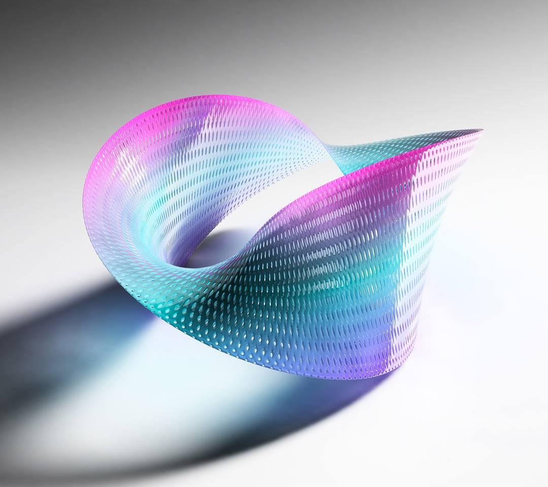 3d Rainbow Curve