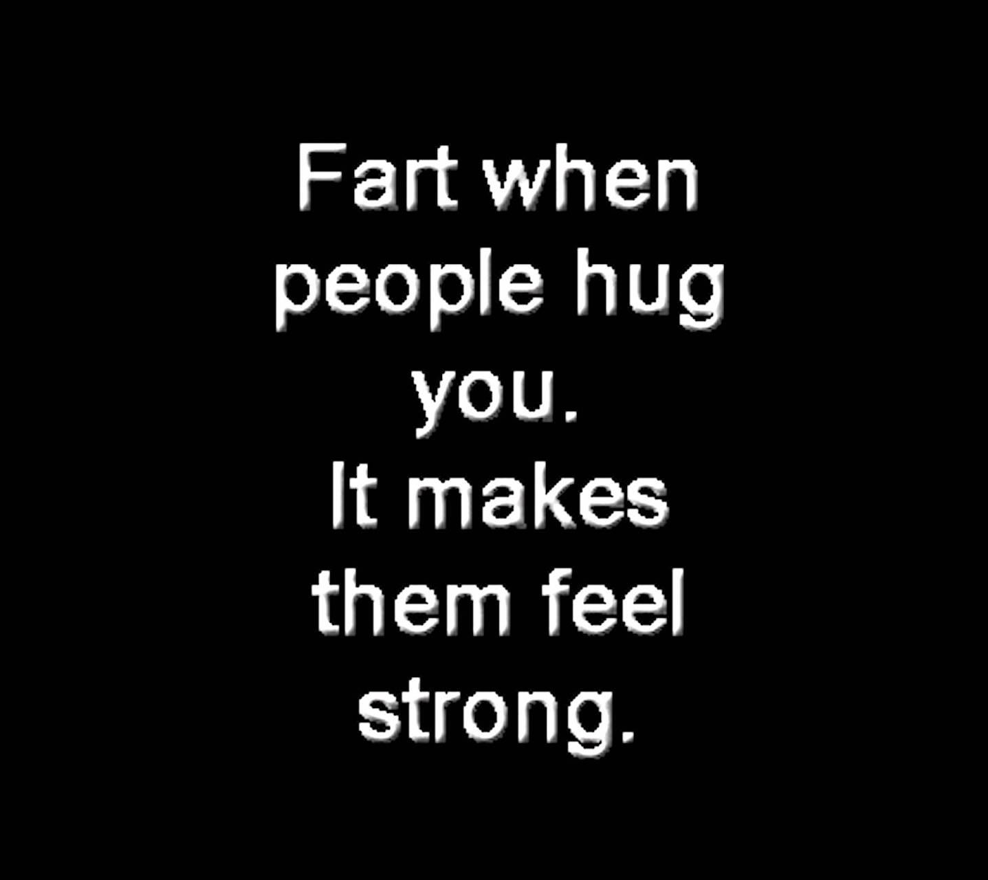 When People Hug You