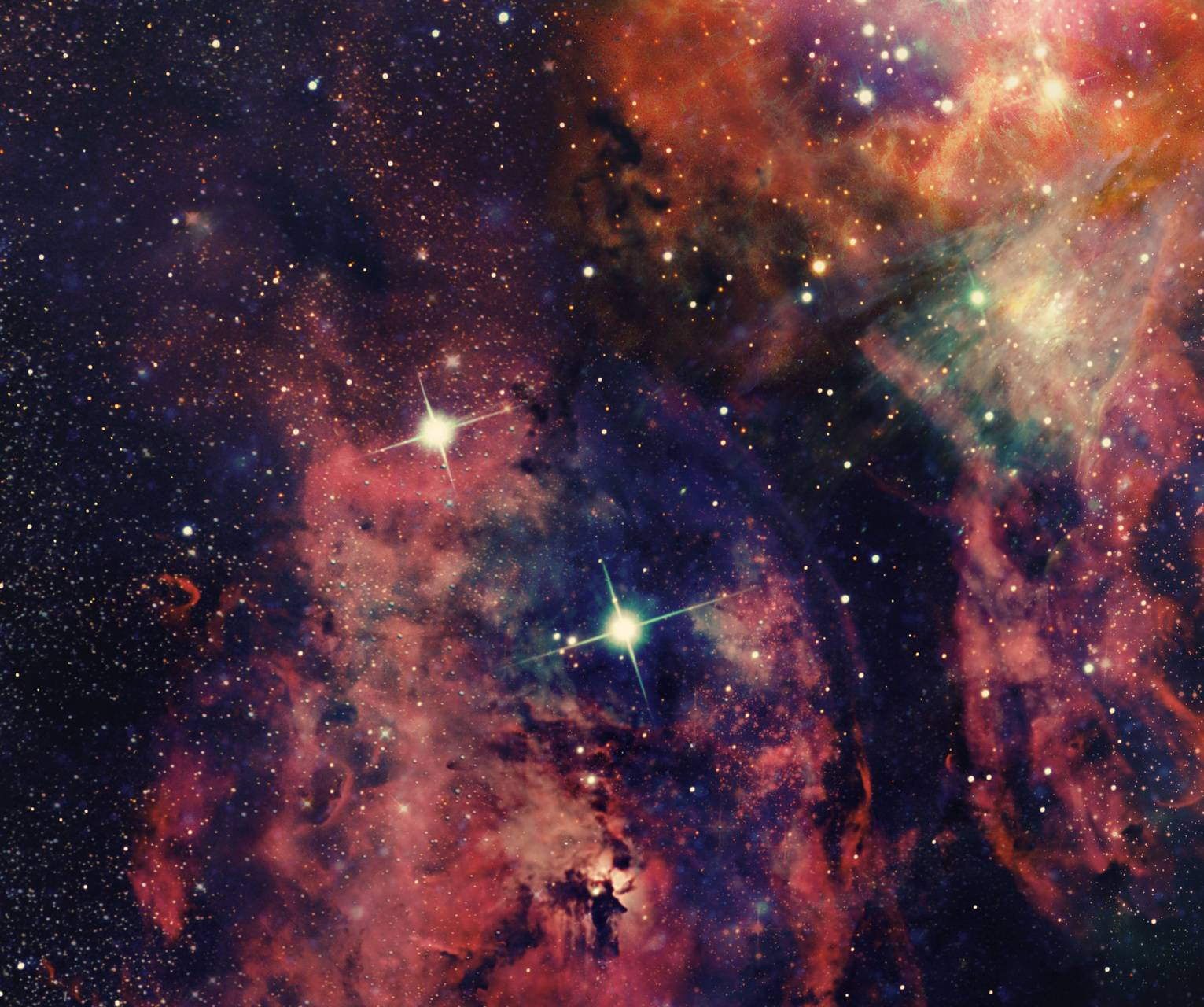 Pinkpurp Nebula