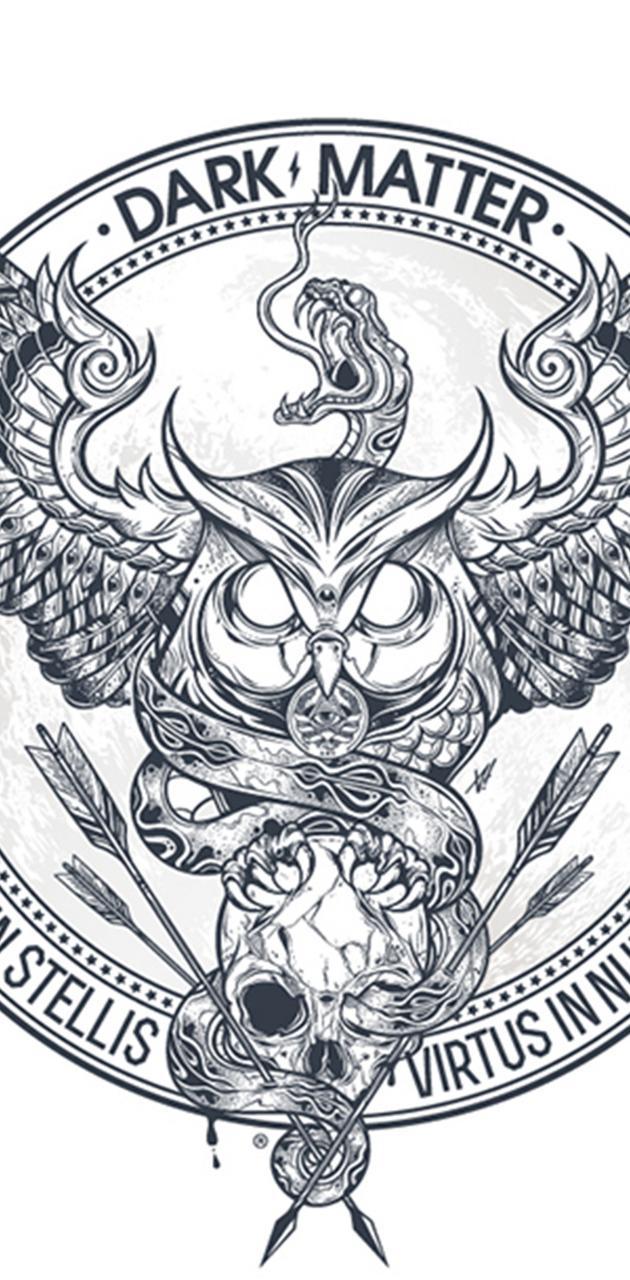 owl skull and snake