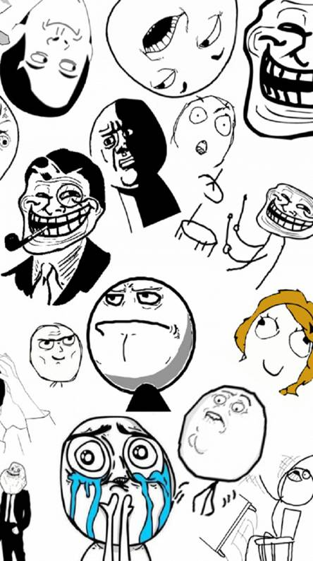 Troll Face Wallpapers Free By Zedge
