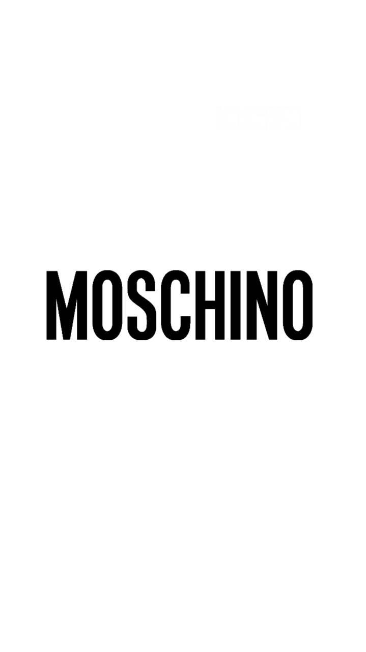 Moschino black logo