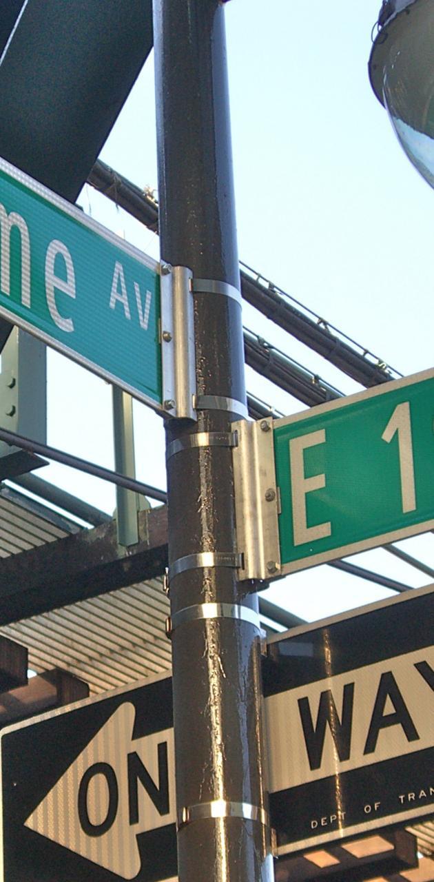 Bronx Street Signs
