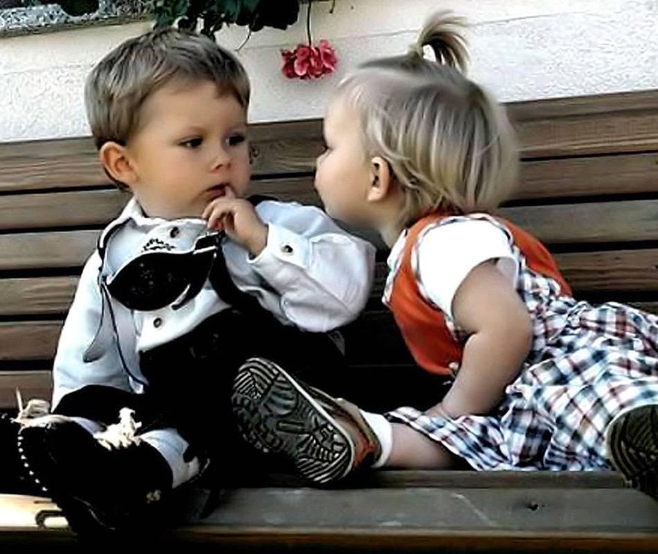 Смешные картинки мальчика и девочки