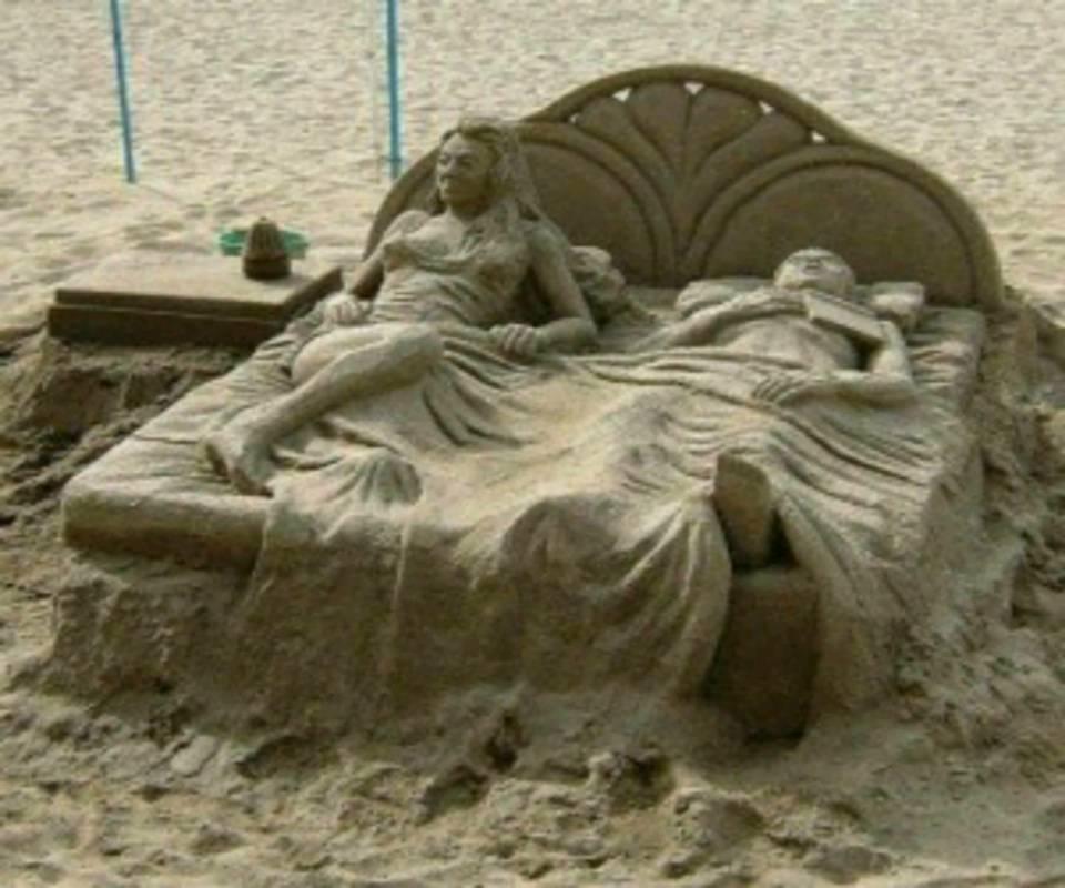 sand cassetle bed