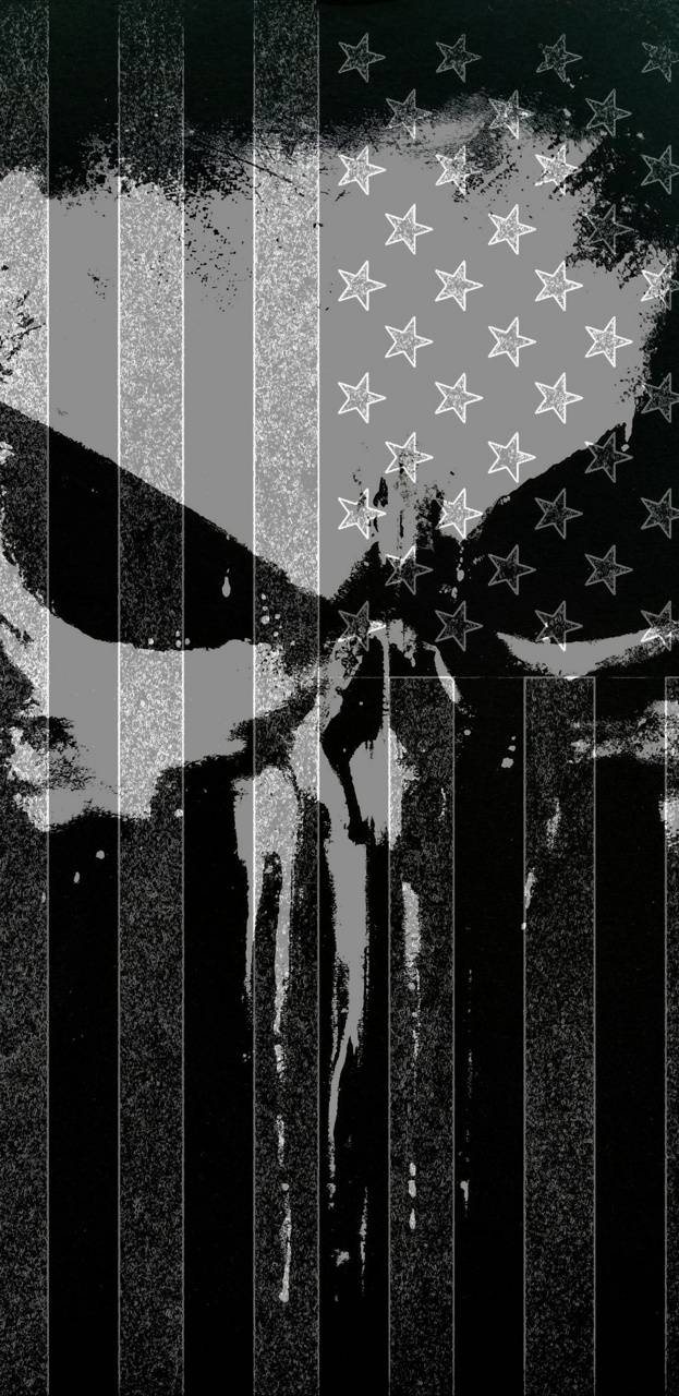 Punisher Flag Wallpaper By One Shot 1979 F4 Free On Zedge