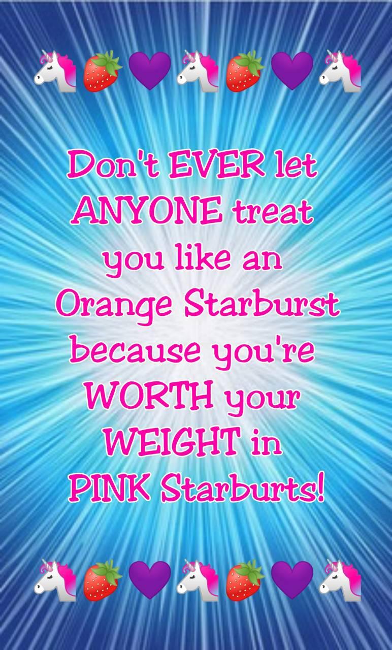 Starburst Quote