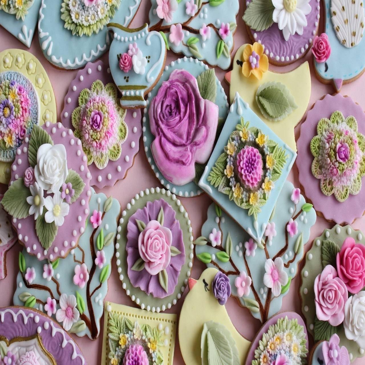 Cookies Flowers