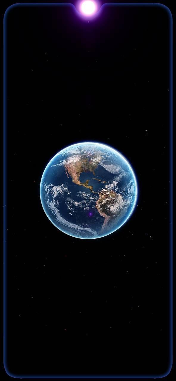 Amoled earth space