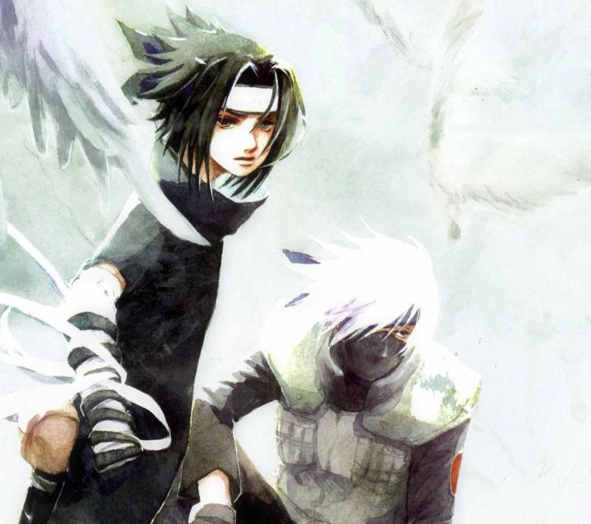 Sasuke and Kakashi