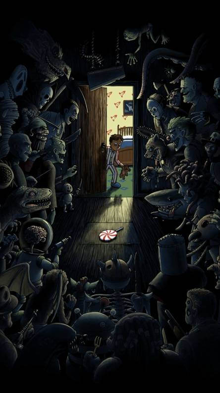 funny horror wallpapers for android
