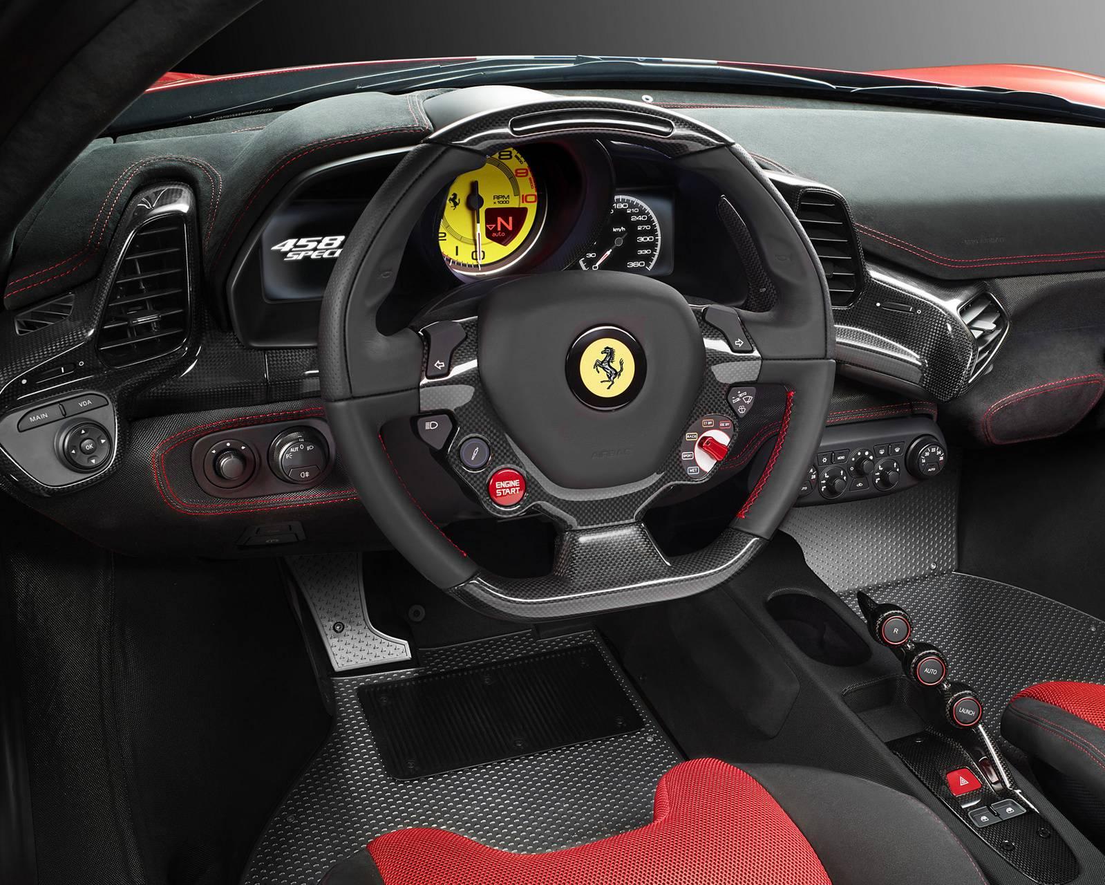 458 interior