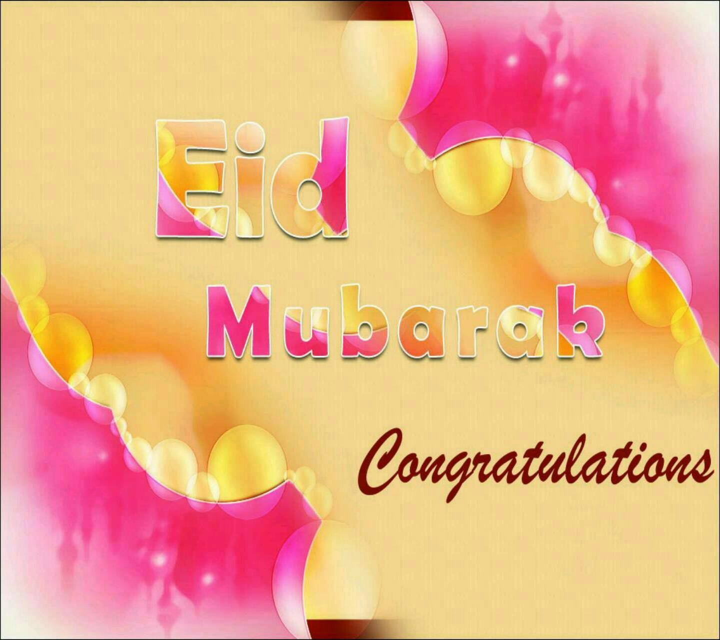 Happy Eid wish