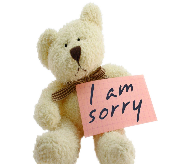 Cute Apologise