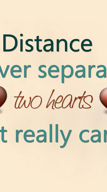 Distance Never