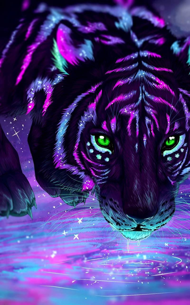 Purple Tiger wallpaper by TLCsr5862 - 80 - Free on ZEDGE™