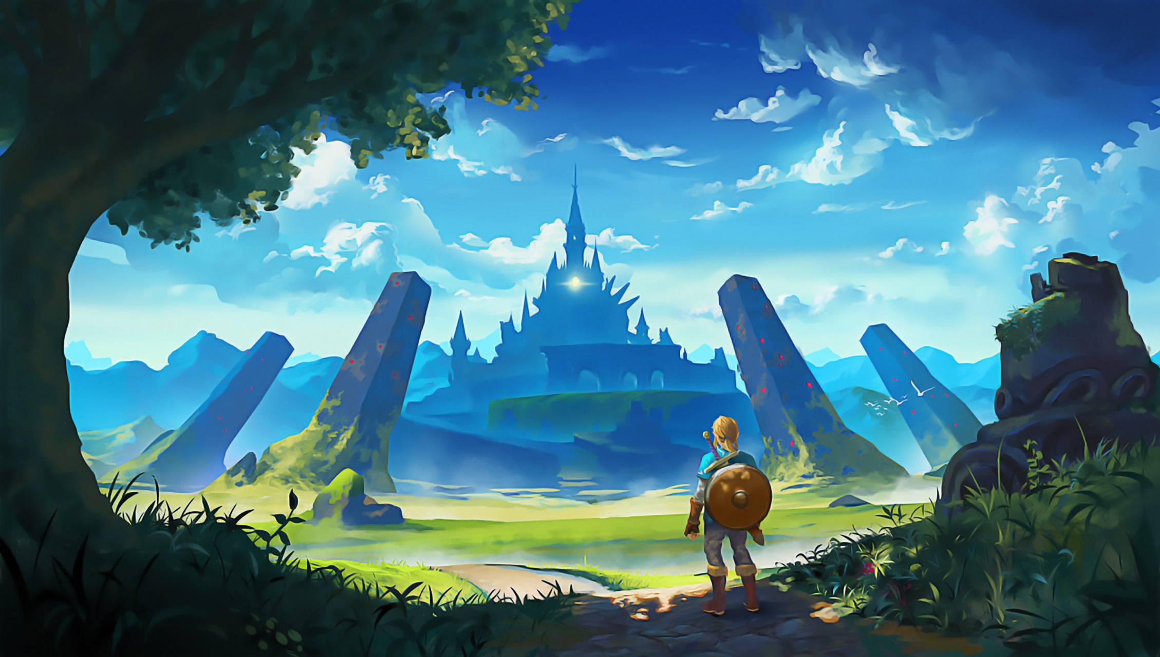 Breath Hyrule castle