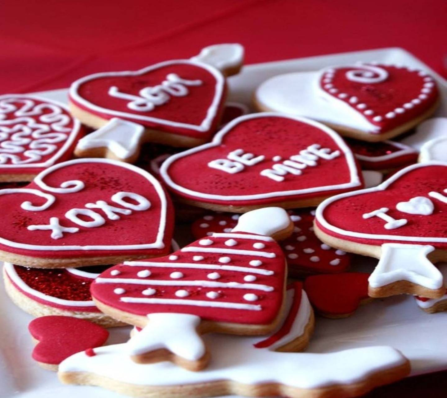 Be Mine Biscuits