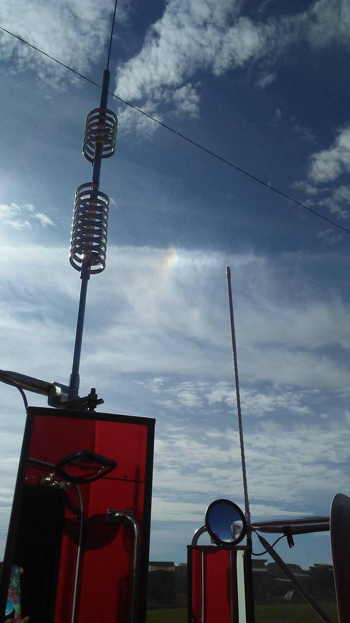 Truck stop rainbow