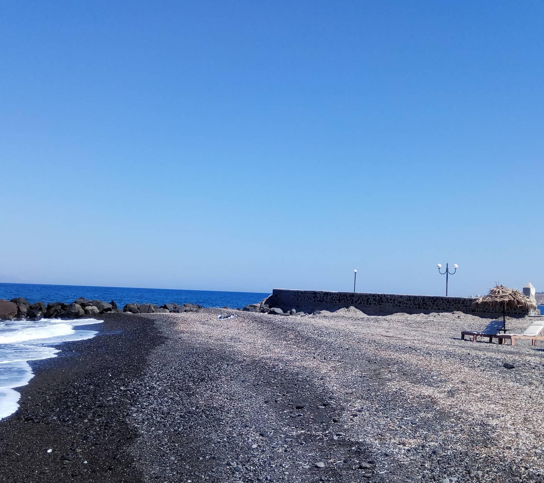 Santorini Black Sand