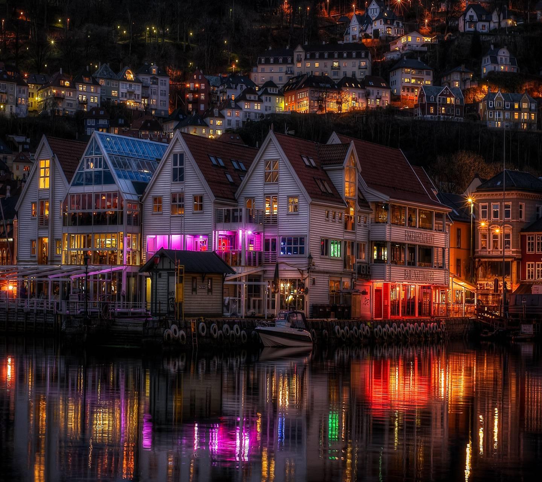 Evening Village
