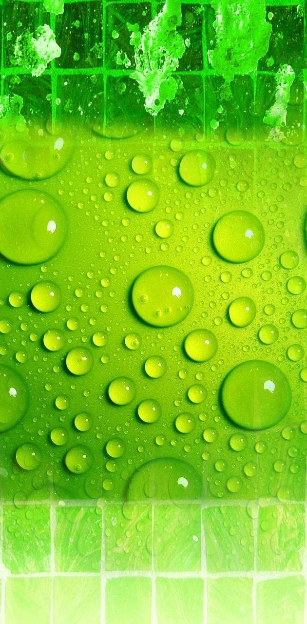 Green tile drops