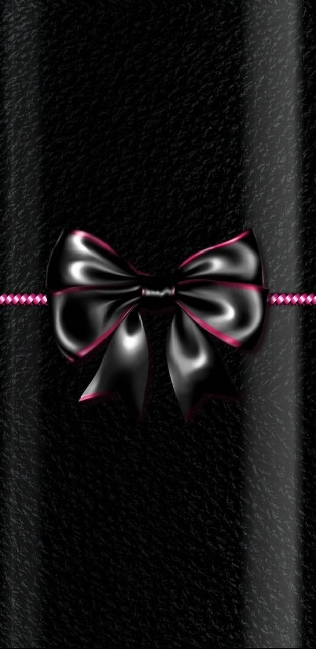PinkBlack Bow
