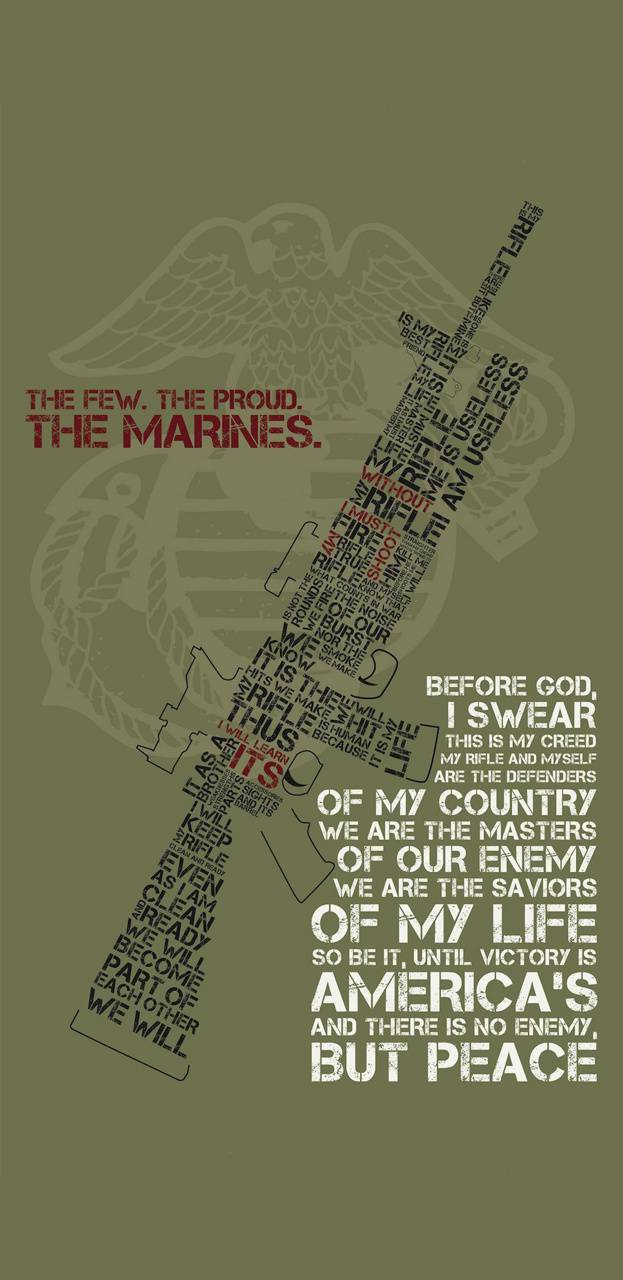 Usmc Riflemans Creed Wallpaper By Gamecentral418 65 Free On Zedge