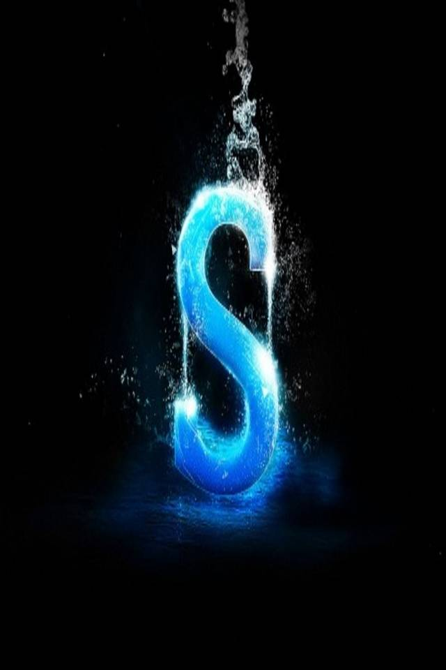Cool letter S