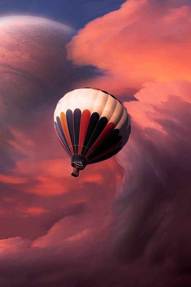 flying ballon