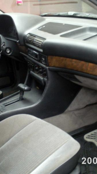 Old BMW interior