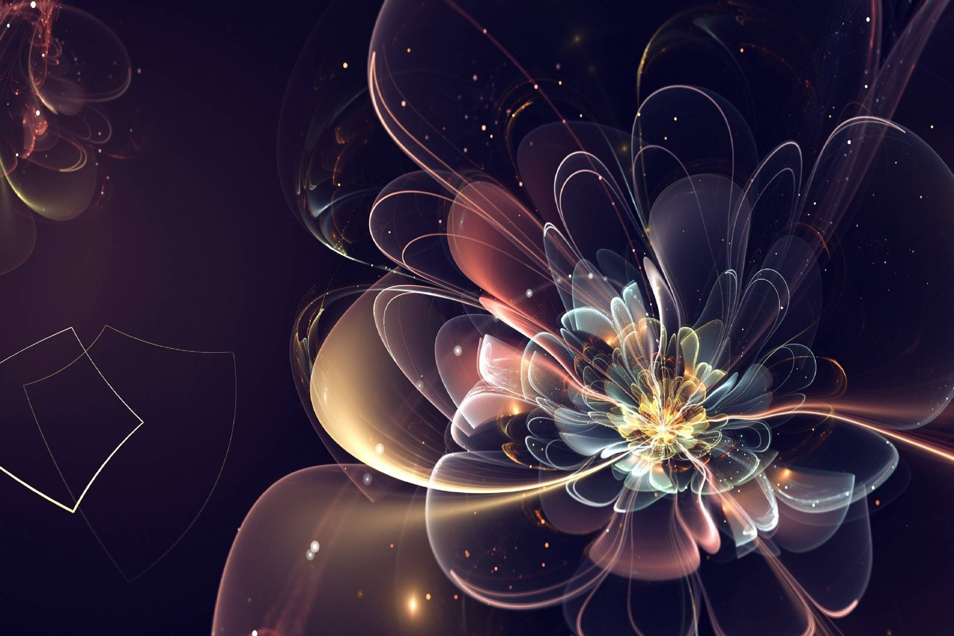 3d Abstract flower
