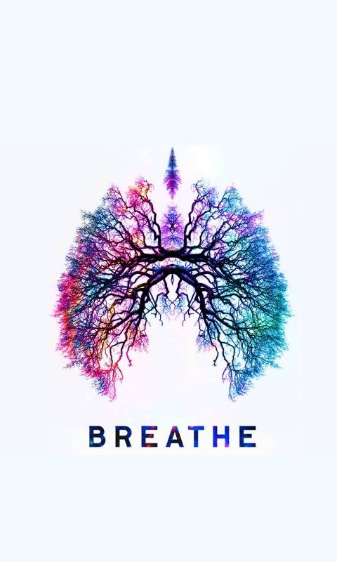 Abstract Breathe