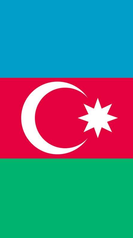 Azeri flag