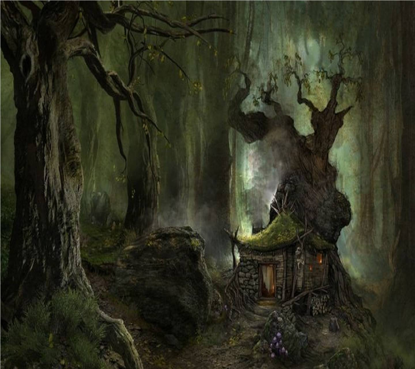 House In The Woods Wallpaper By Hailie Pitts D2 Free On Zedge