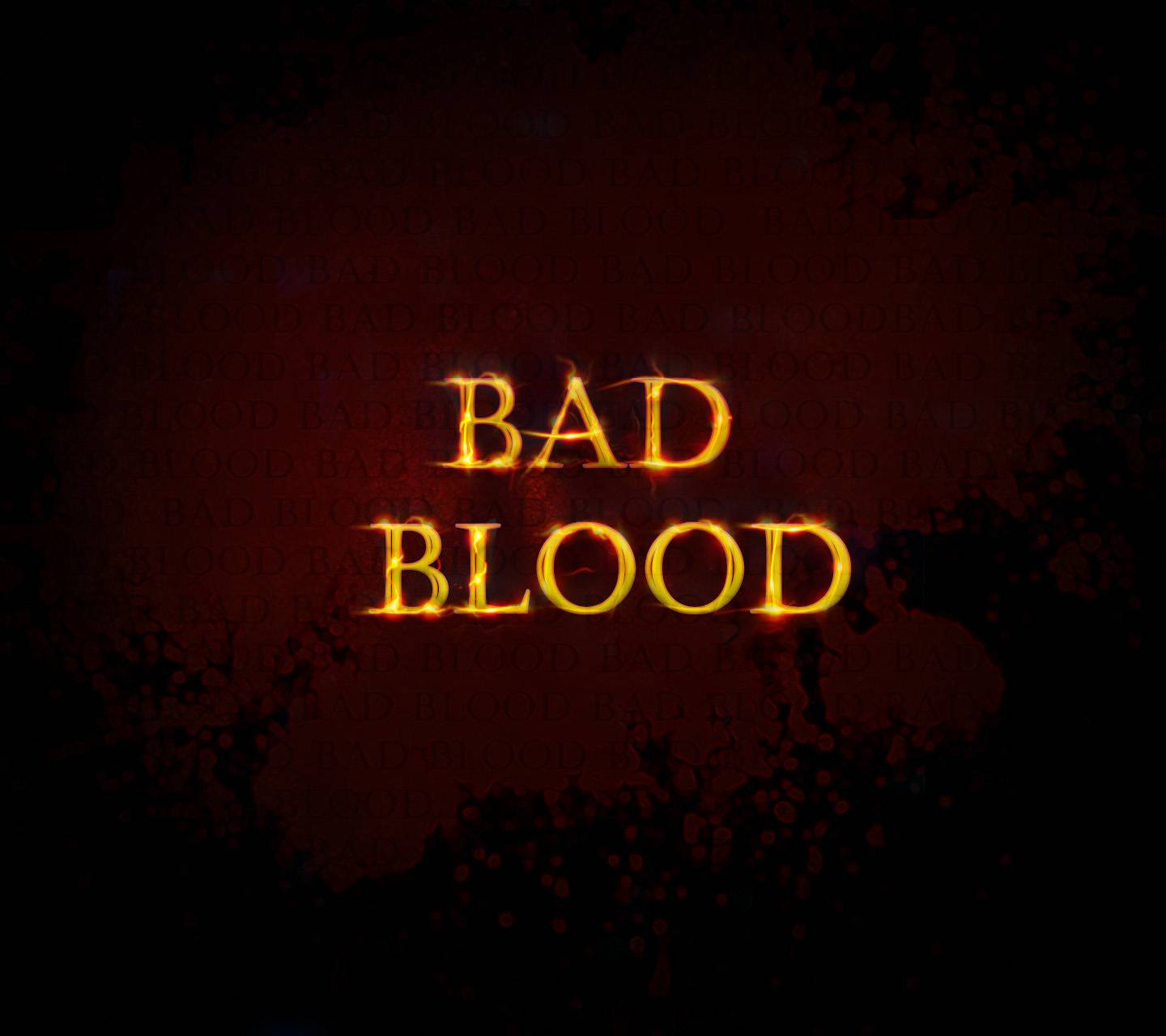 Bad Blood black