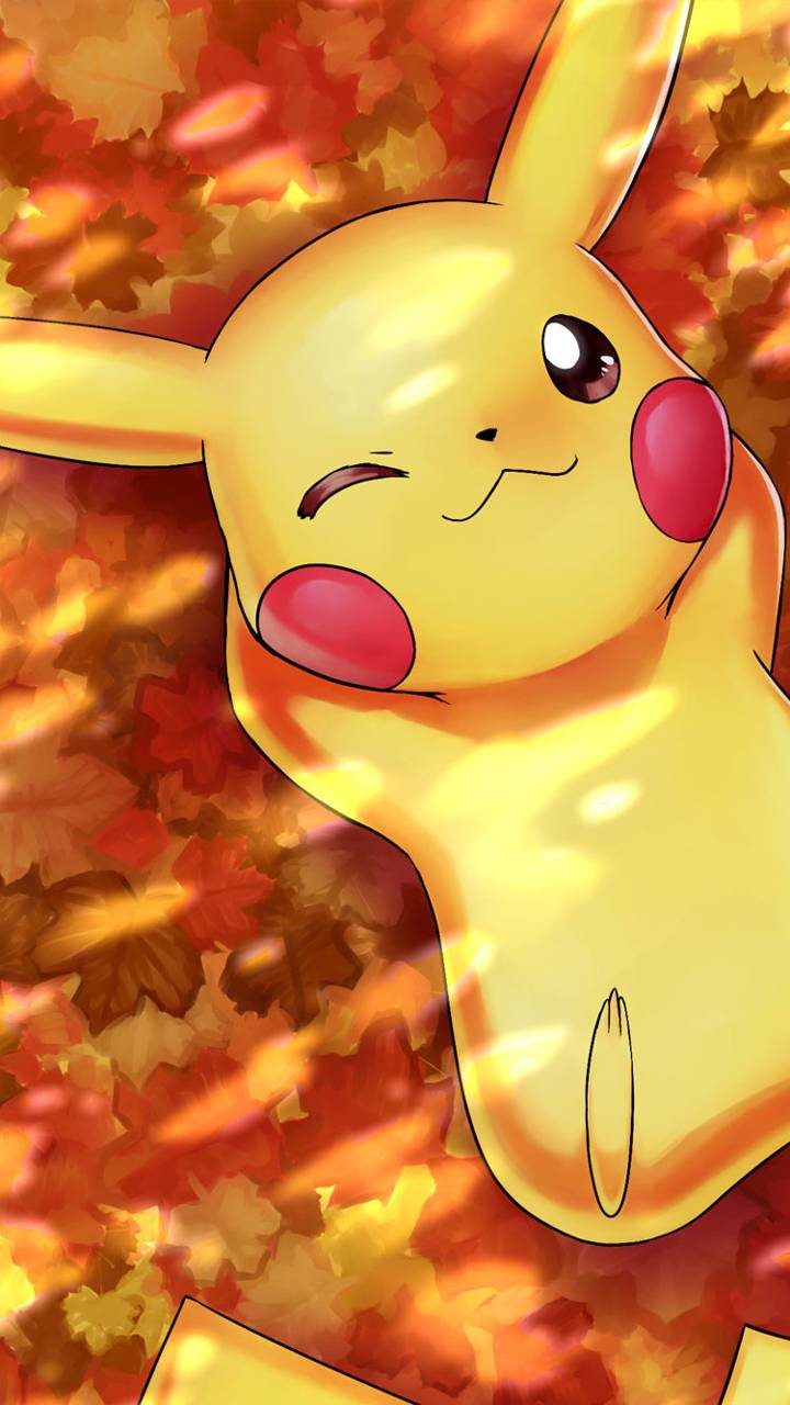 Autumn pikachu