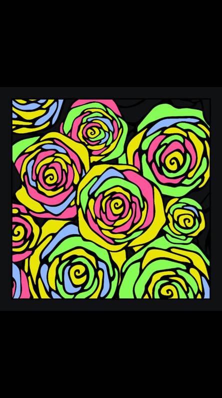 Tye-Dye Roses
