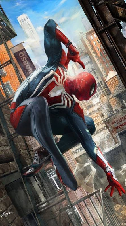 Spiderman Ps4 Hd Wallpapers Spiderman Ps4 Wallpaper